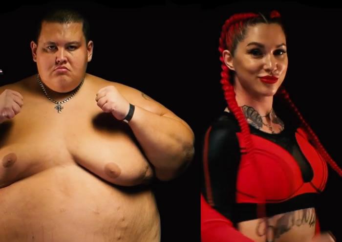 gordo luchadora