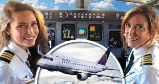Pilotos madre e hija hacen historia volando juntas un avión comercial de SkyWest Airlines