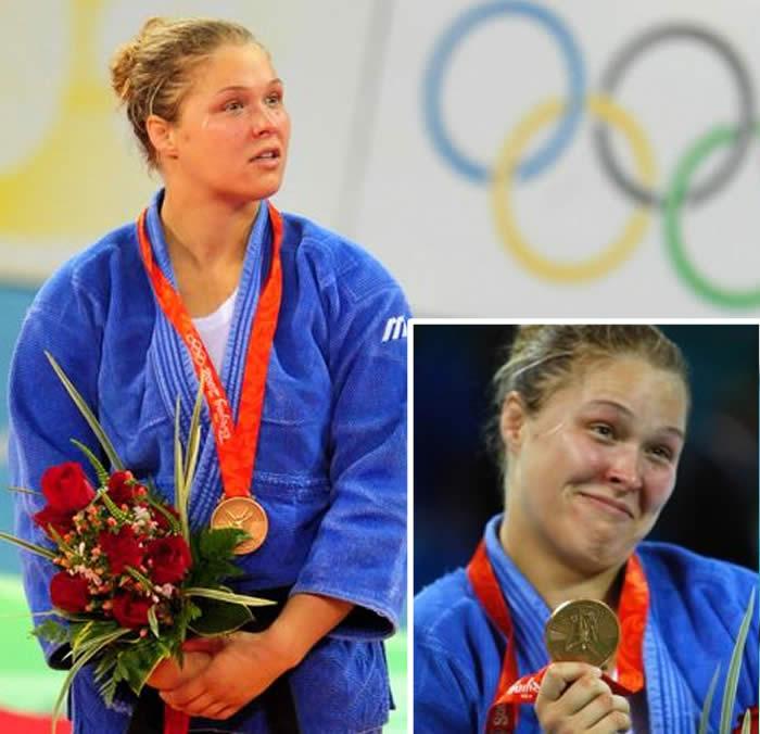 ronda rousey medalla olimpica judo