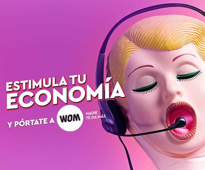 wom campaña colombia