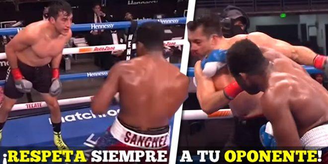 boxeador mexicano rocky noqueado