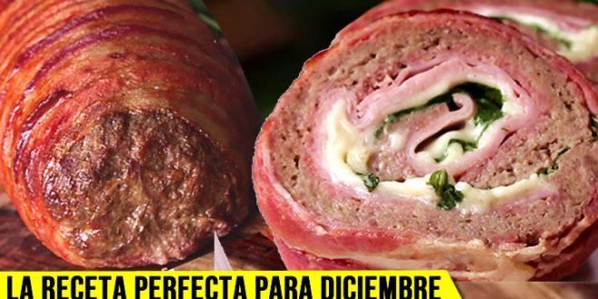 receta carne rollo gratis fácil diciembre