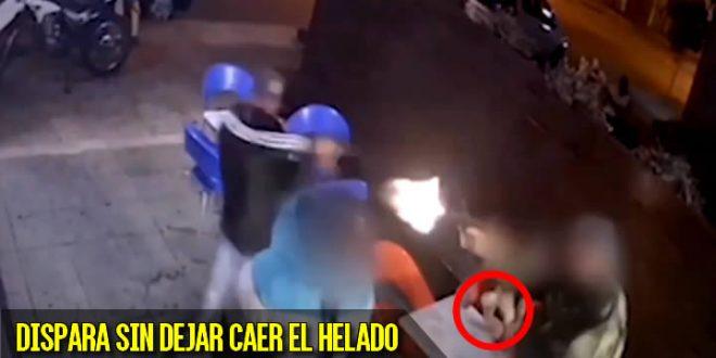 policia ladrones heladeria helado uruguay